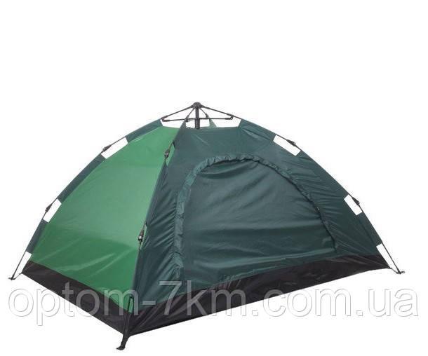 Палатка АВТОМАТ Палатка 4-х местная СИНЯЯ № 3-42 VJ
