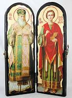 Складень Лука и Пантелеимон 300х200, фото 1