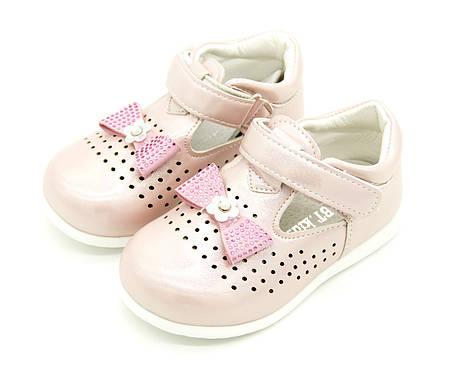 Туфли для девочки Размеры: 24, 25 Цвет -Розовый, фото 2