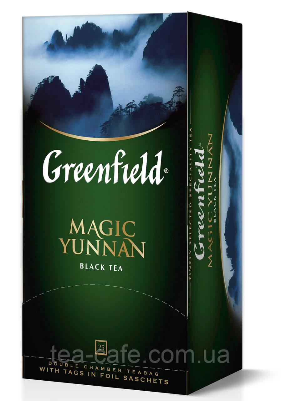 Чай  Greenfield Magic Yunnan пакетированный 25 пак.