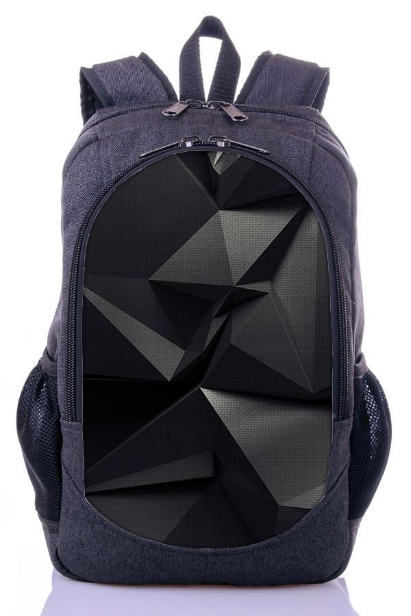 Рюкзак школьный городской с крутым принтом Zaino (519).
