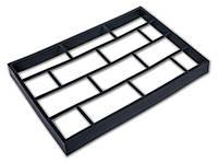 """Форма для садовой дорожки """"Клинкерный камень"""" 60*40*6 см, садовая дорожка, форма для изготовления дорожки"""