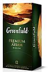 Чай  Greenfield Premium Assam  пакетированный 25 пак.