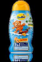 SauBär 3in1, Dusche + Shampoo + Pflegespülung Aprikose гель купания шампунь 250мл