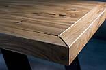 Стол в лофт loft стиле массив ореха, фото 5