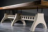 Большой стол в индустриальном стиле, фото 6