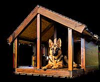 Будка для собаки Furniture-Tokar Ovcharka 1000х2500 из дерева
