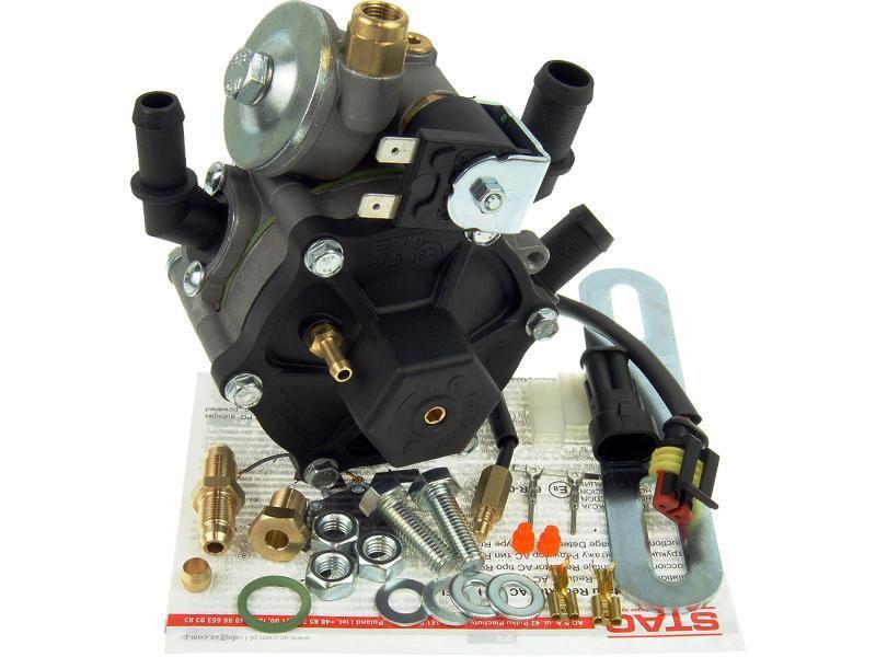 Редуктор ГБО AC STAG R02 100KW 120 л.с. со встроенным газовым клапаном