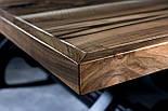 Стіл з горіха в індустріальному стилі, фото 2