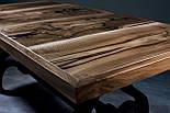 Стол из ореха в индустриальном стиле, фото 4