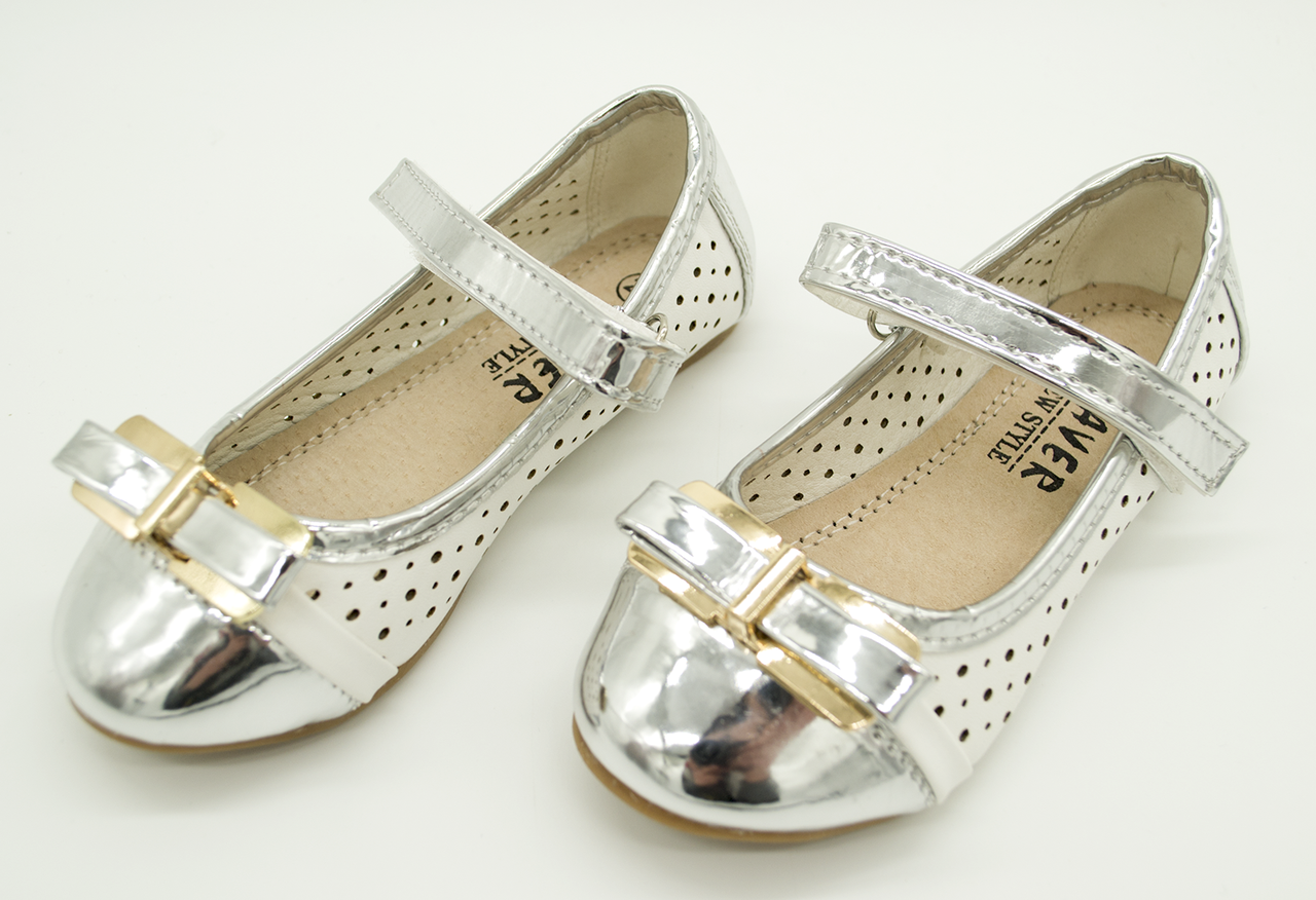 Балетки-сандали для девочек Haver детские 28 размеры