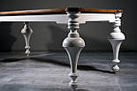 Шикарный  обеденный стол из массива дерева, фото 2
