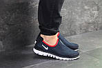 Чоловічі кросівки Nike Free Run 3.0 ( темно-синій, з білим ), фото 3