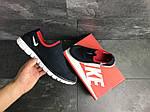 Чоловічі кросівки Nike Free Run 3.0 ( темно-синій, з білим ), фото 4