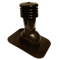 Вентиляционный выход Kronoplast KPG  для битумной кровли не утепленный D - 150  мм коричневый