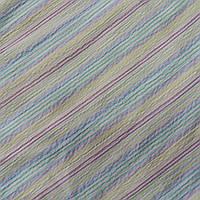 Коттон-жатка с сиреневой, голубой и желтой полоской, фото 1