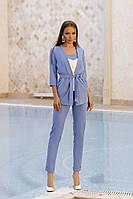 ТК2245 Стильный женский костюм-тройка разные цвета