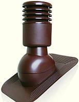 Вентиляционный выход Kronoplast KPGO для битумной кровли утепленный  D-150 мм коричневый