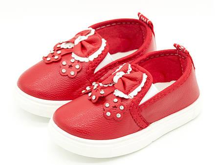 Cлипоны Красные для девочки Размеры: 26, 30, 31, фото 2