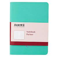 Записная книга блокнот Axent 115x160мм 80л Partner Soft Mini Bloom 8302-18-a