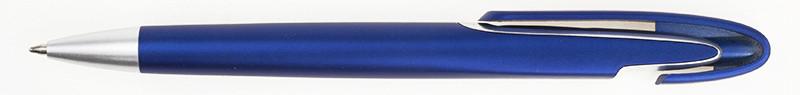Ручка ber2012B пластиковая, синяя, от 100 шт