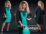 Очень красивое женское платье 50-56р.(4расцв.) , фото 2