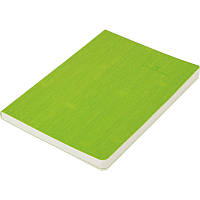 Записная книга блокнот Buromax COLOR TUNES А5 искусств. кожа 96л. без разметки, салатовый BM.295000-