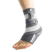 Бандаж спортивный для лодыжки Spokey Segro (original), фиксатор голеностопного сустава, щиколотки, голеностопа Серый