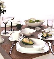 Столовый сервиз 19 предметов Luminarc Lotusia, сервиз люминарк, набор тарелок люминарк