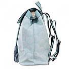 Рюкзак женский YES Weekend YW25 из экокожи 17*28.5*15 см голубой (555872), фото 2