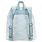 Рюкзак женский YES Weekend YW25 из экокожи 17*28.5*15 см голубой (555872), фото 4