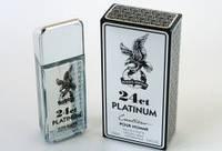 Мужская туалетная вода 24 carat platinum 100 ml