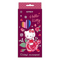 Карандаши цветные Kite 12цв Hello Kitty HK19-051