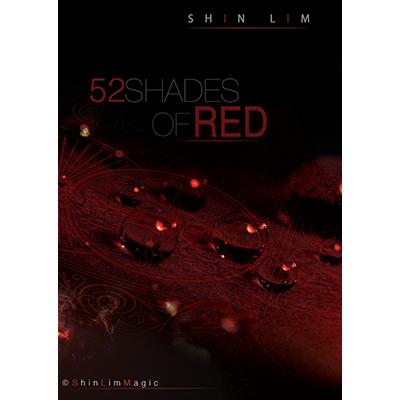 Трюковая колода | 52 Shades Of Red Deck by Shin Lim