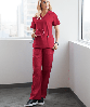 Медицинские брюки, женские (Butter-Soft STRETCH Women's 8 Pocket Drawstring Scrub Pants), фото 3
