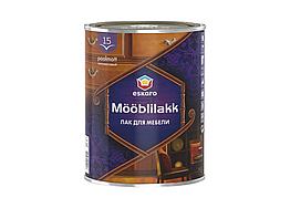 Водоразбавляемый акриловый лак для мебели  Eskaro Mooblilakk 15 0,9л