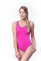 Купальник женский закрытый Shepa 001 слитный,цельный, без чашек(чашечек) спортивный для бассейна