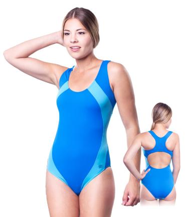 Купальник женский закрытый Shepa 009 слитный,цельный, без чашек(чашечек) спортивный для бассейна