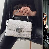 Кожаная сумка Made in Italy Люкс качество TS000024 , кожаные сумки в белом цвете , фото 1