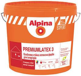Alpina Expert Premiumlatex 3 - особо стойкая латексная краска для интерьеров
