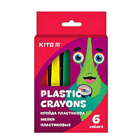 Мелки пластиковые, 6 цв. Jolliers Kite K19-072-6
