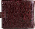 Прочное мужское кожаное портмоне DESISAN (ДЕСИСАН) SHI087 коричневый, фото 3