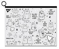 Папка-конверт на блискавцi А4 ''Amigo Cats'' Yes 491700