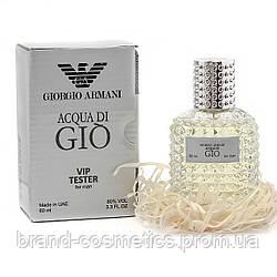Тестер VIP Giorgio Armani Acqua Di Gio 60 мл мужской