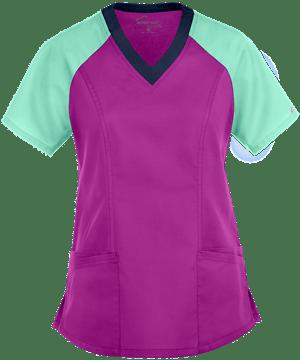 Медицинская блуза (женская) / UA Butter-Soft STRETCH Scrubs Active Color Block Top
