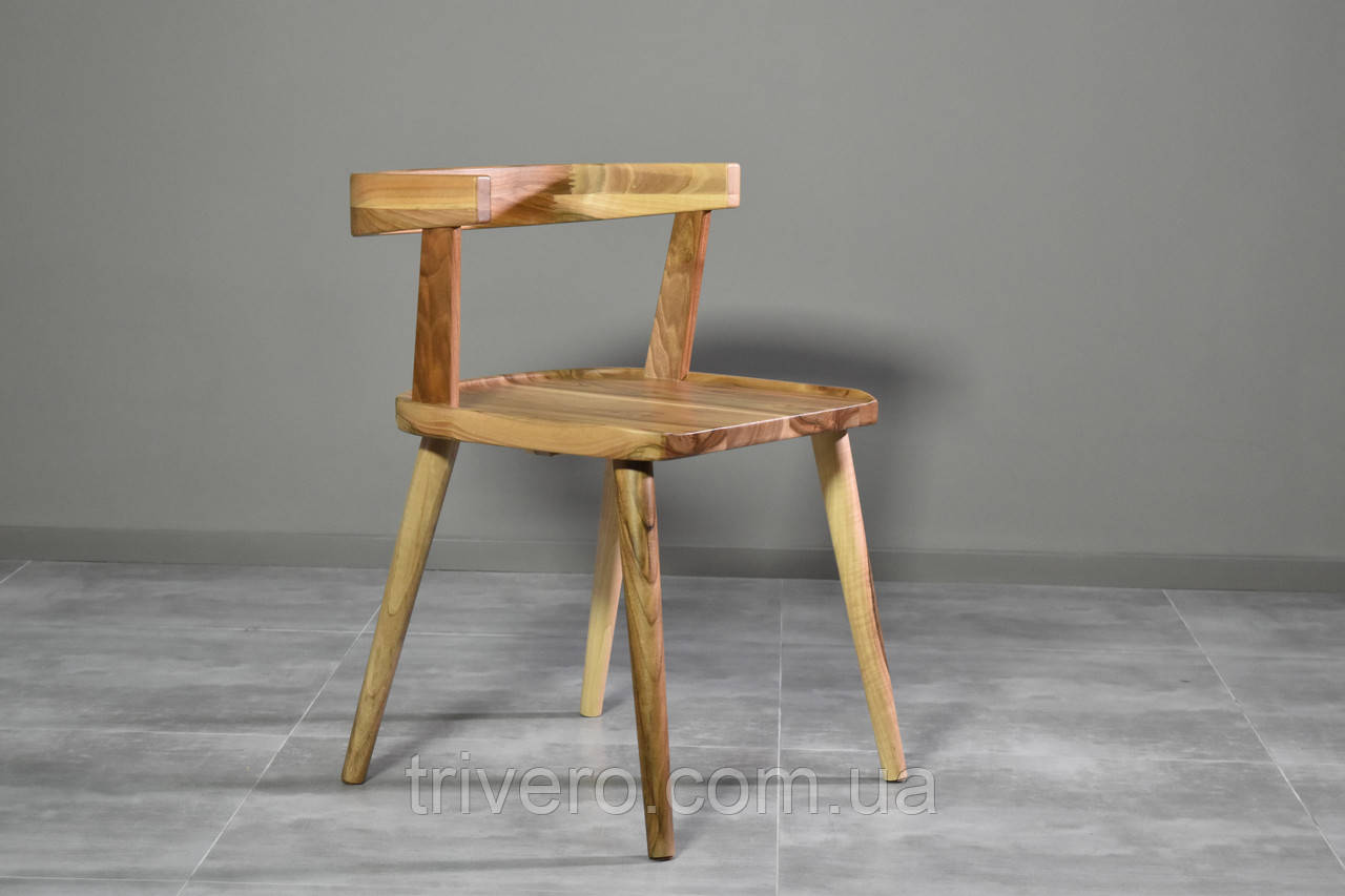 Дизайнерский стул орех