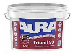 Акриловый лак для мебели Aura Triumf 90 0.75л