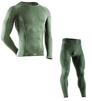 Термобелье мужское спортивное Tervel Comfortline (original), комплект, зональное, бесшовное, фото 1