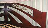 Кутова дерев'яна ліжко-тахта Веселка, фото 4