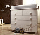 Комод-пеленатор Luxury White, фото 5